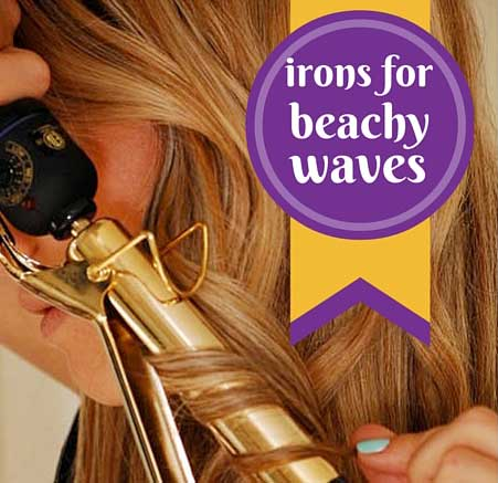 curling irons for beachy waves