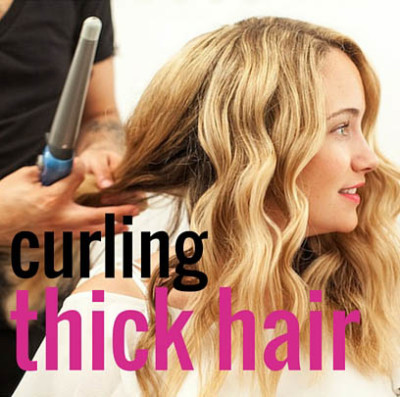 best curling wand for thick hair