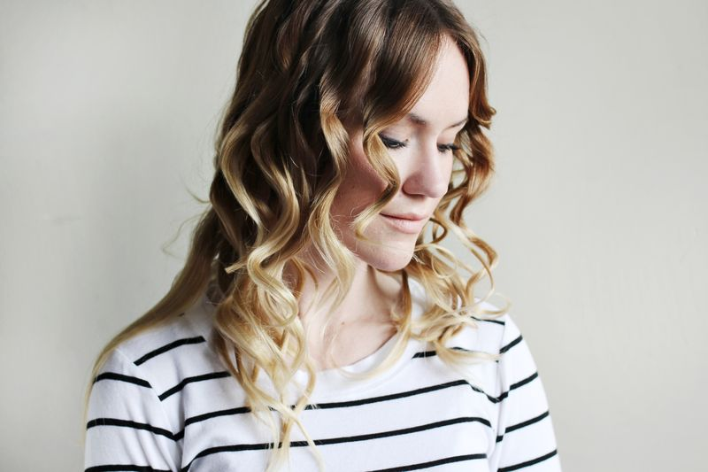 How to Curl Fine Hair