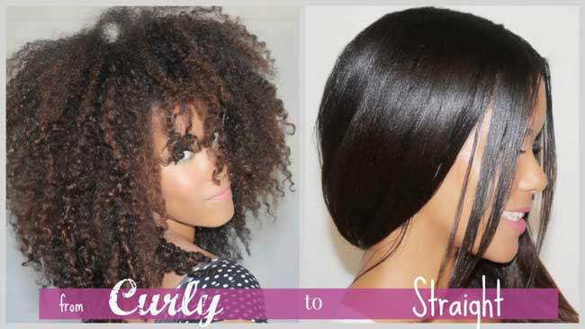 choosing flat iron for curly hair
