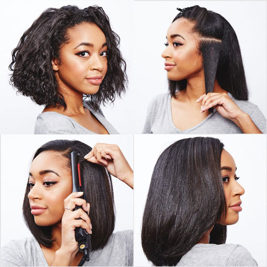 curly-hair-straightening-tips