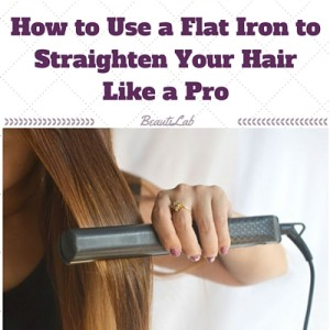how to straighten hair like a pro