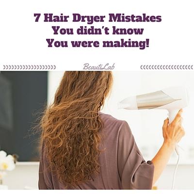 hair dyer mistakes