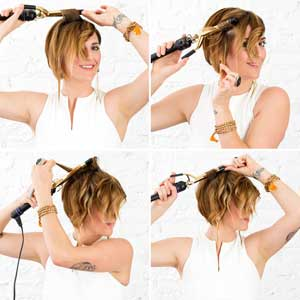 Small Barrel Curling Iron For Short Hair Up To 64 Off Free Shipping