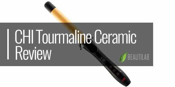 CHI Tourmaline Ceramic Curling Wand review featured
