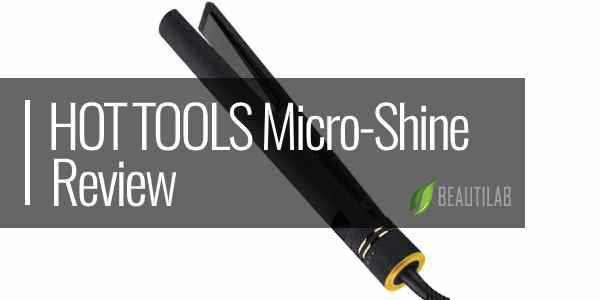HOT TOOLS Professional Black Gold Micro-Shine Flat Iron review featured